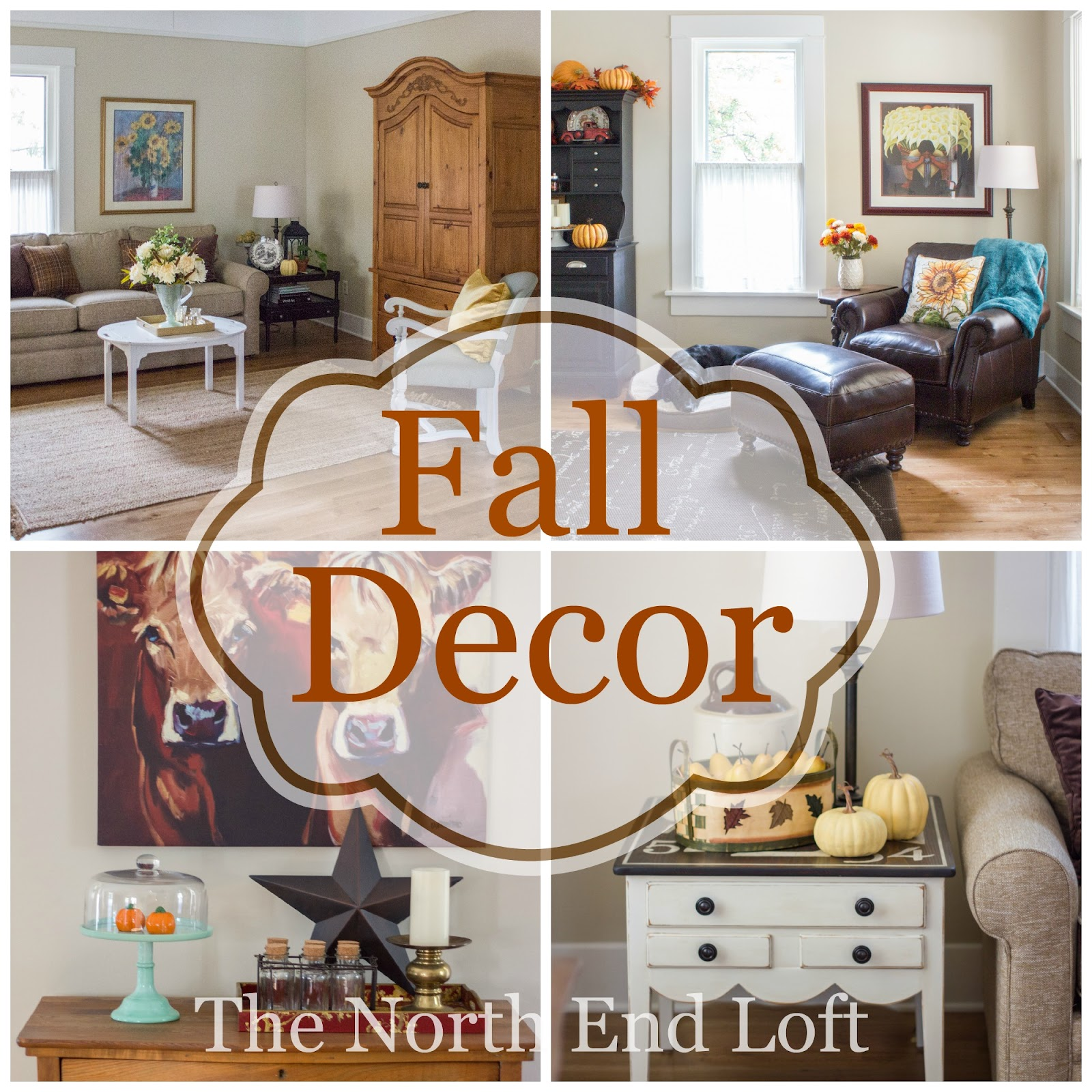 The North End Loft: Fall Living Room 2015