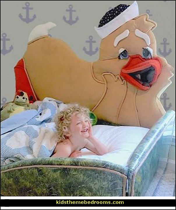 duck themed bed boys animal beds  Animal themed toddler Beds - themed beds - fun kids theme beds - toddler animal beds - kids themed beds - kids room furniture - animal themed headboards - Animal Shaped Beds for toddlers - girls beds - boys beds - kids rooms wall decorations - playroom beds - unique furniture -  fun furniture - toddler bedding - Pajamas