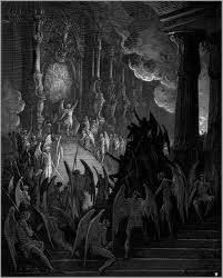 the throne of satan in hell fire