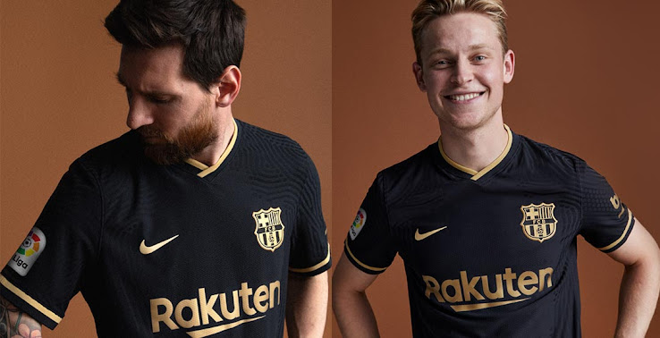 fc barcelona 20 21 away kit released footy headlines fc barcelona 20 21 away kit released