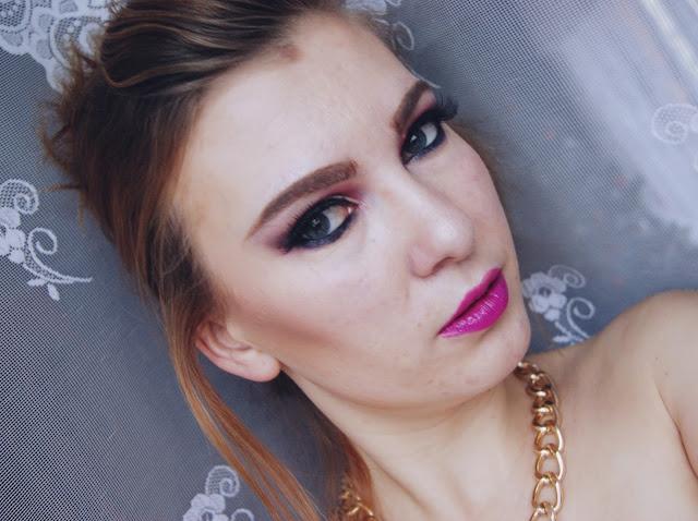 #50 Pierwsza próba cut crease - make up