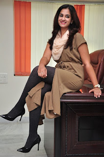 Actress Nanditha Raj Latest Stills at Savitri Movie Interview  0094