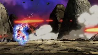 Goku is super fast