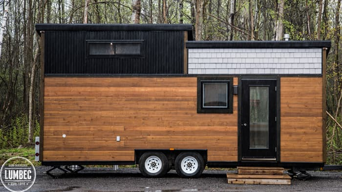 this mobile tiny house designed and built by tiny house lumbec is as beautiful as it is comfortable named the th2 presumably tiny house 2 - Tiny House Mobile