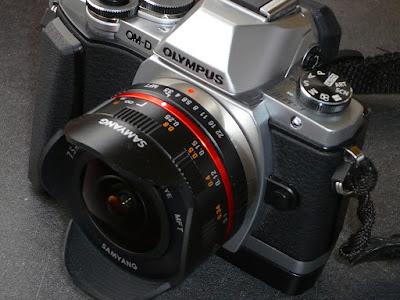 MFT-Kamera mit Fisheye