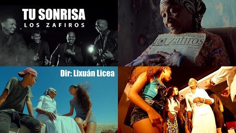 Zafiros - ¨Tu sonrisa¨ - Videoclip - Dirección: Lixuán Licea. Portal del Vídeo Clip Cubano