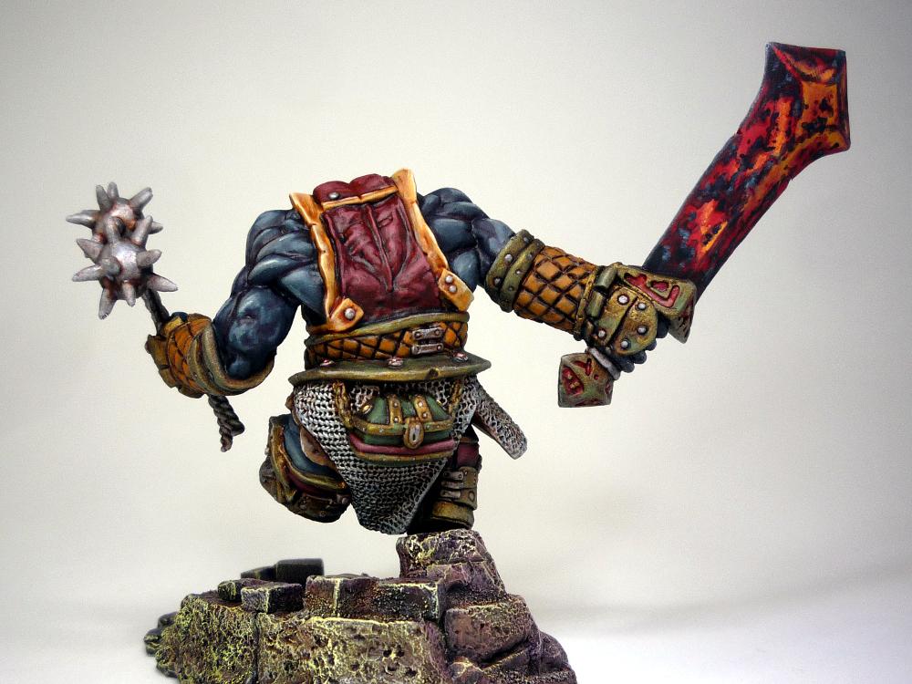 REAPER MINIATURES BONES Overig 77178 Fire Giant Warrior