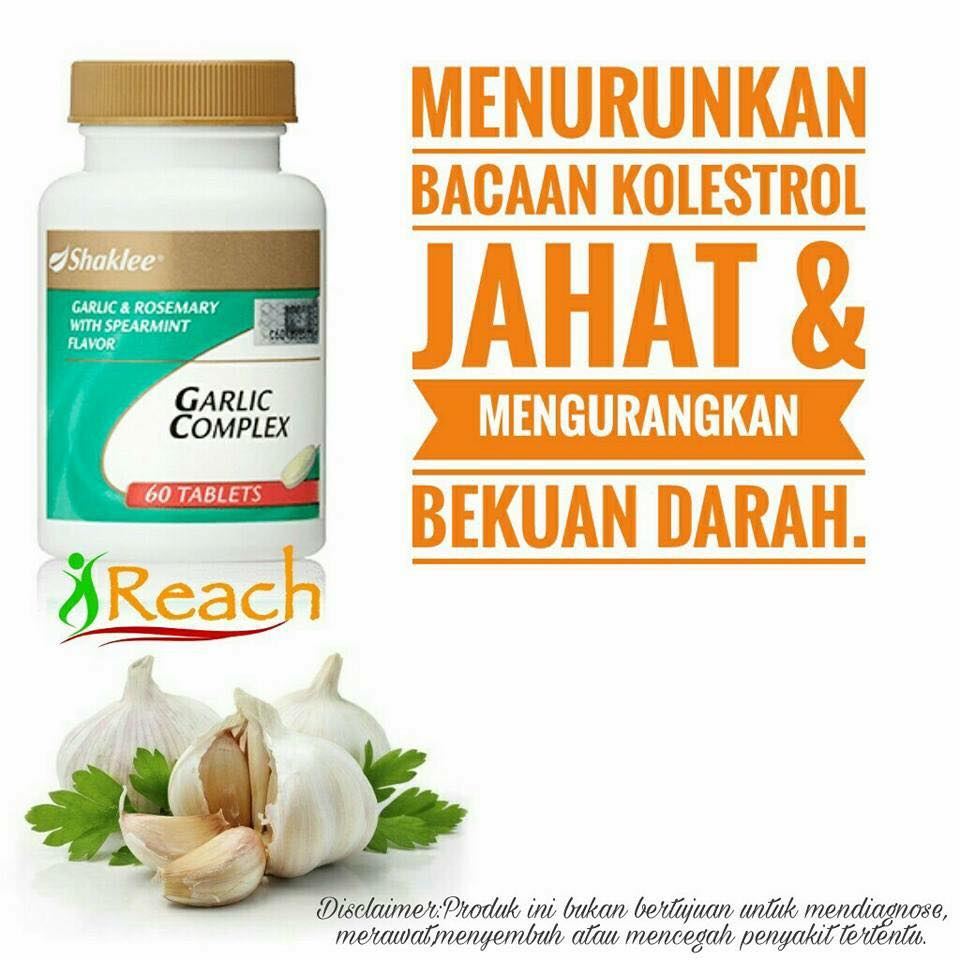 8 Manfaat Garlic Complex Shaklee