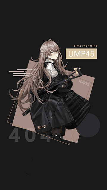 UMP45 - Girls Frontline Wallpaper