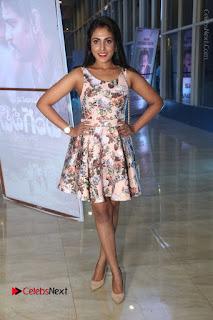 Actress Madhu Shalini Stills in Floral Short Dress at RGV Shiva to Vangaveeti Event  0160.JPG