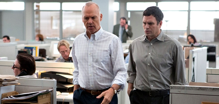 Michael Keaton y Mark Ruffalo