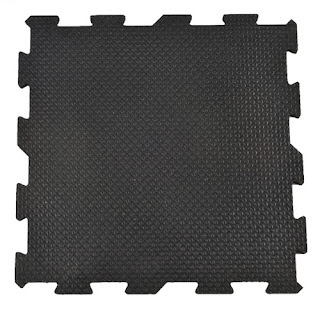 Greatmats Sundance rubber floor tile interlocking dogs equine