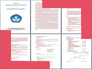Contoh Proposal Ulangan Akhir Semester (UAS) Sekolah Dasar