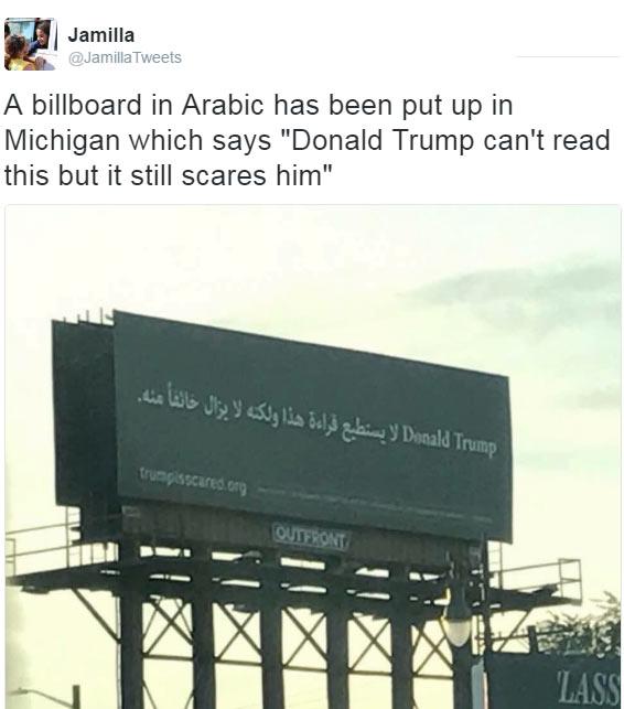 United States muslims troll Donald Trump