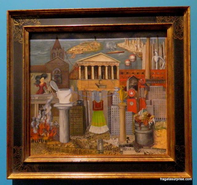 """""""Onde penduro meu vestido"""", tela de Frida Kahlo"""