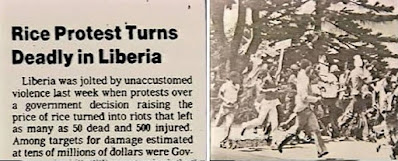 Matthews and PAL called for a peaceful demonstration in Monrovia, and on April 14, 1979 to march on the Executive Mansion to protest the proposed price rise.