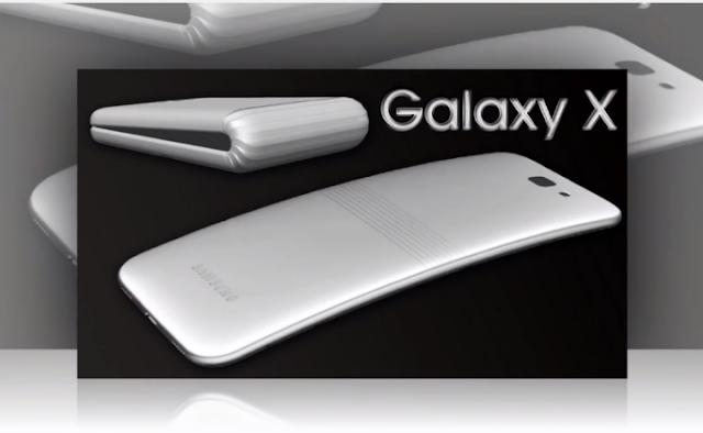بهيكلٍ مرن وقابل للانحناء Galaxy X تسريب :هذا العام سامسونج ستطلق هاتف