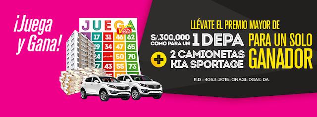 [Sorteo] Gana premios de S/.300.000, S/.10.000 y S/.1.000 en efectivo, Camionetas Kia y más - #JuegaVea