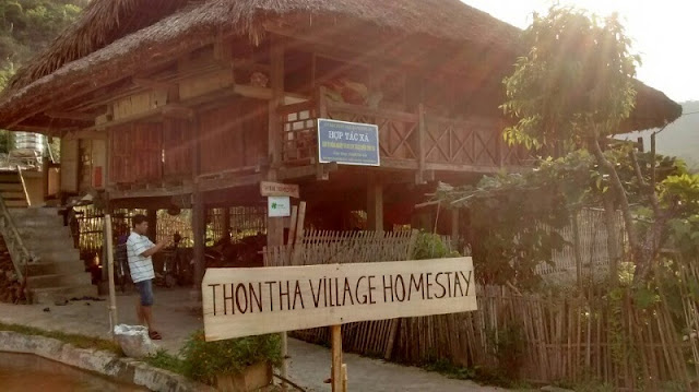Thon Tha - a peaceful village on Ha Giang 1