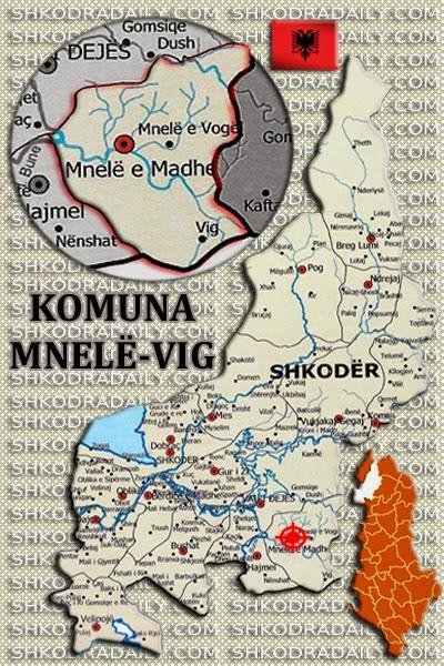 komuna mnele-vig, rrethi shkoder, qarku shkoder