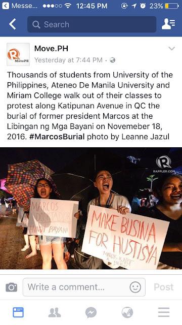 'Bat di kayo magrally sa malawak na daan?' Motorist Rants Over Katipunan Protesters.