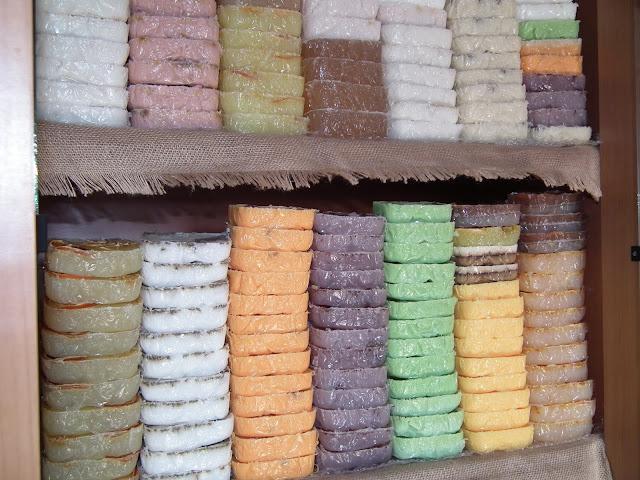 Mydło naturalne ręcznie robione sól do kąpieli Pszczela Dolinka