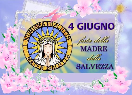 Novena in preparazione alla Festa della Madre della Salvezza (dal 26 maggio al 3 giugno)