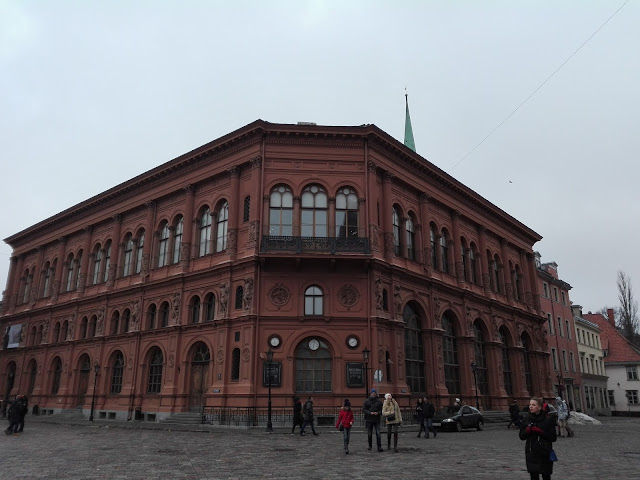 """Museo de Arte """"Riga Bourse"""" (@mibaulviajero)"""