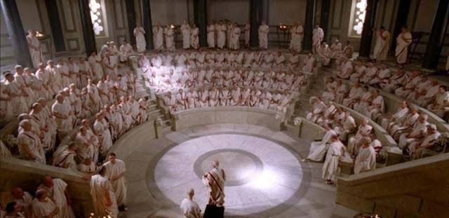 Senado romano y Ley