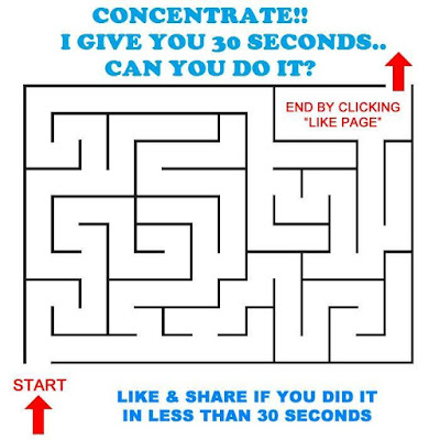 Very easy Maze Picture Puzzle