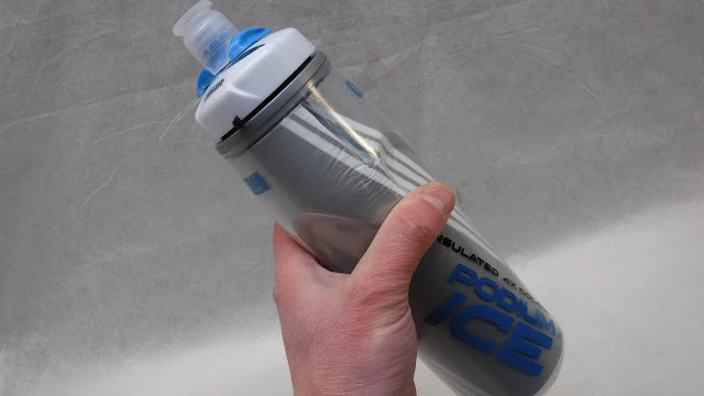 Camelbak Podium Ice Water Bottle Holding it in Hand