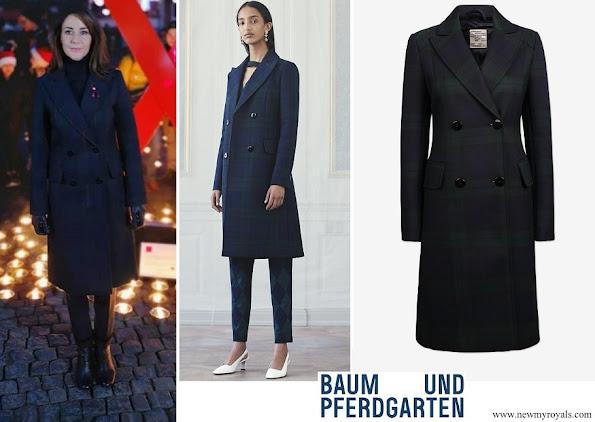 Princess Marie wore Baum und Pferdgarten Damara coat