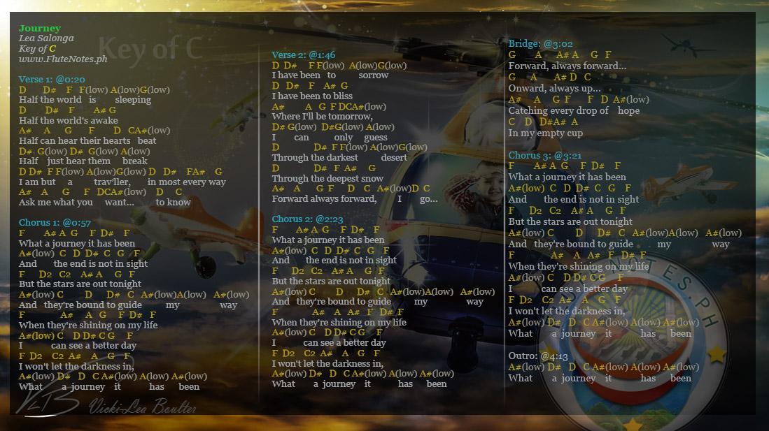 Journey leah salonga lyrics