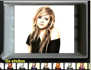 Efeitos de fotos online