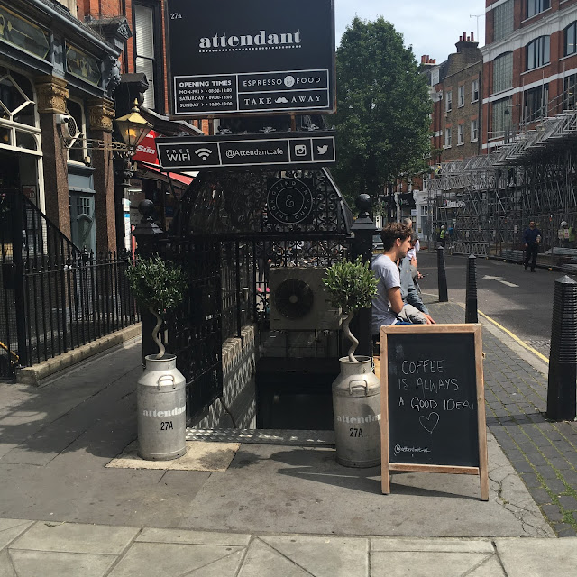 The Attendant, London by What Laura did Next
