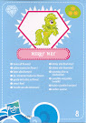My Little Pony Wave 4 Merry May Blind Bag Card
