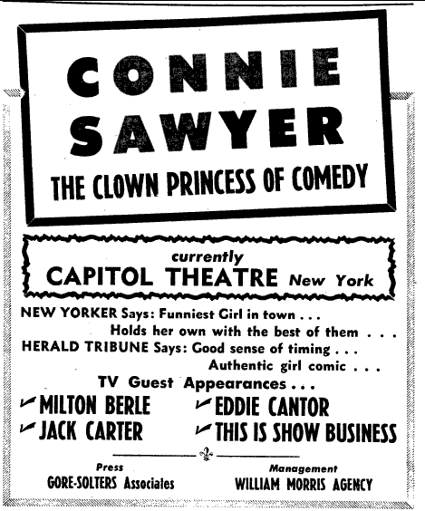 Classic Television Showbiz: An Interview with Connie