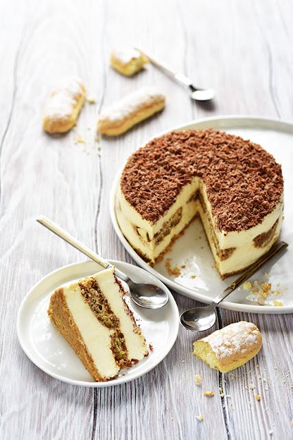 Cheesecake tiramisu café