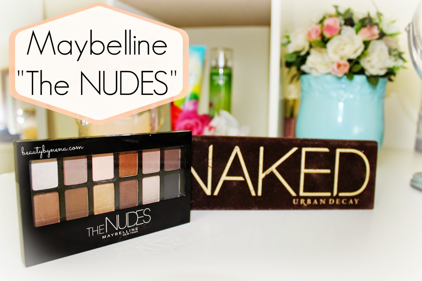 "NUEVA Maybelline ""The NUDES"" Review"