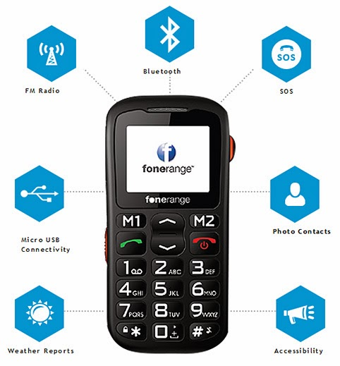 mobile phone for elderly person