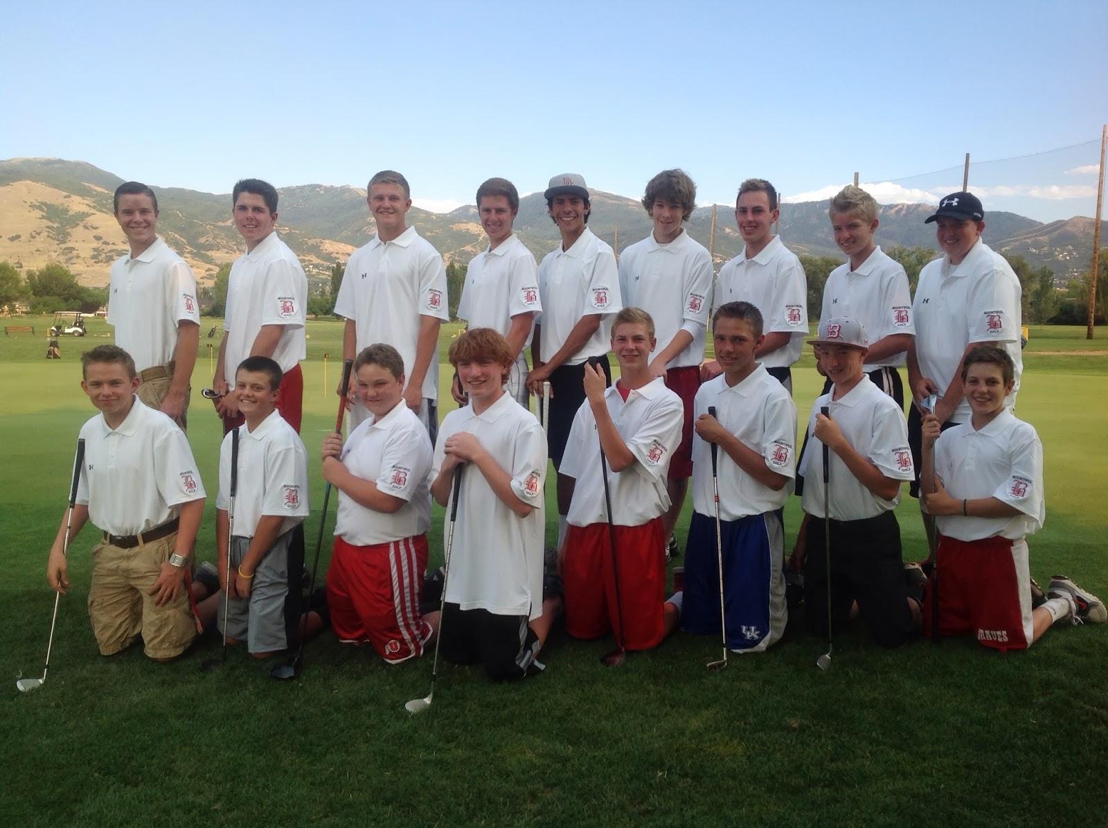 Bhs Golf Team August