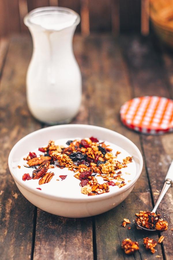 Pyszna granola na śniadanie