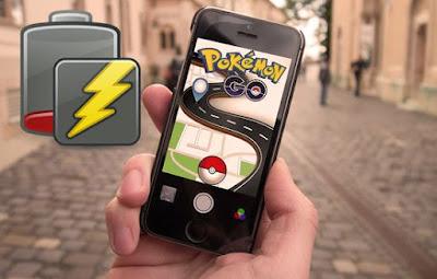 Cara Mudah Menghemat Baterai Pada Saat Bermain Pokemon GO