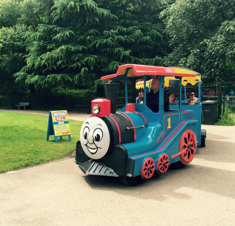5 of the Best Family Picnic Spots in North East England   #EnglishTourismWeek19 - Jesmond Dene Thomas Train