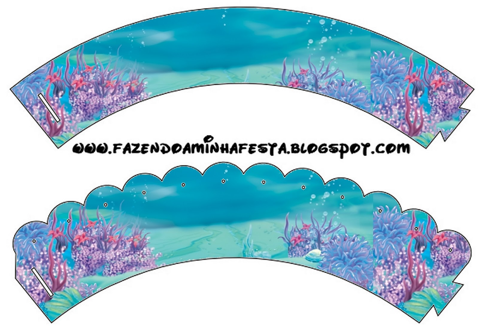 Under The Sea Free Party Printables
