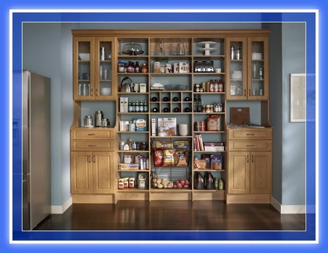Dise os de muebles despensa pantry madera y melamina web for Muebles de cocina despensa