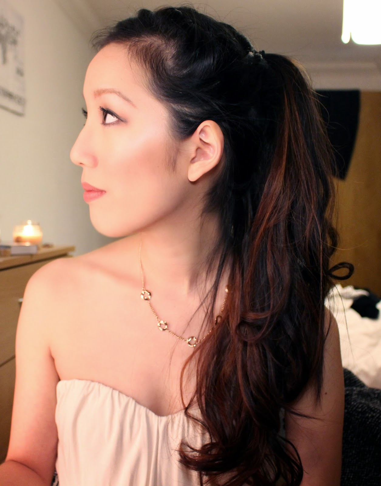 grecian makeup toga party fancy dress ariana grande hair tutorial
