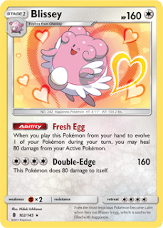 Blissey Guardians Rising Pokemon Card
