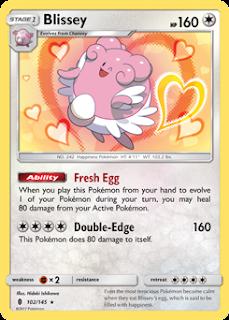 Blissey Guardians Rising Pokemon Card