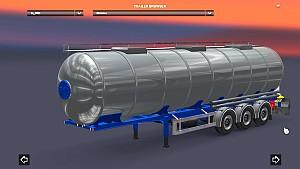 Chromed cistern